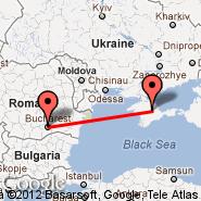 Sevastopol (Belbek, UKS) - Bukurešt (Metropolitan Area, BUH)