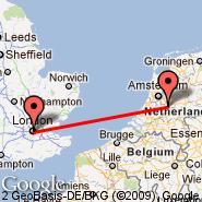 Utrecht (Soesterberg, UTC) - London (Metropolitan Area, LON)