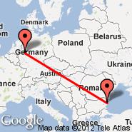Varna (Varna International Airport, VAR) - Dortmund (Wickede, DTM)
