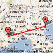 Venecija (Marco Polo, VCE) - Barcelonnette (St-Pons, BAE)