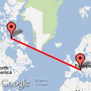 Venezia (Marco Polo, VCE) - Nunavut (CANU)