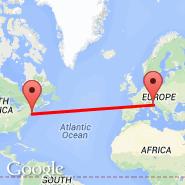 Venezia (Marco Polo, VCE) - Islip/Long Island (Long Island Mac Arthur, ISP)