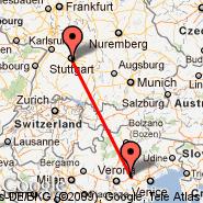 Vicenza (Trissino, VIC) - Stuttgart (Stuttgart Echterdingen, STR)