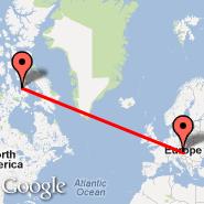Vienna (Schwechat International, VIE) - Nunavut (CANU)