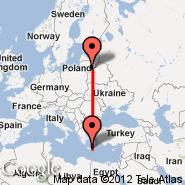 Vilnius (Vilnius International Airport, VNO) - Heraklion/Kreta (Nikos Kazantzakis Airport, HER)