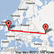 Volgograd (Gumrak, VOG) - London (Metropolitan Area, LON)