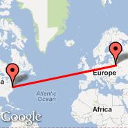 Washington (Metropolitan Area, WAS) - Minsk (Minsk International 2, MSQ)