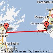 Wellington (Wellington International, WLG) - Picton (Koromiko, PCN)