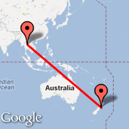 Wellington (Wellington International, WLG) - Uttaradit (UTR)