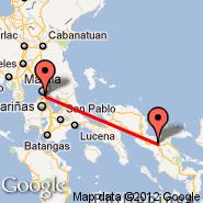 Naga (WNP) - Manila (Ninoy Aquino Intl, MNL)