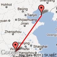 Wuhan (Tianhe International, WUH) - Jinzhou (JNZ)