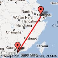 Wuxi (WUX) - Shenzhen (SZX)