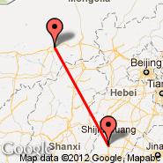 Xingtai (XNT) - Hohhot (Baita International Airport, HET)