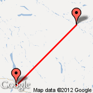 Ross River (XRR) - Whitehorse (Whitehorse International, YXY)