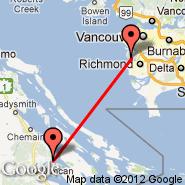 Maple Bay (YAQ) - Vancouver (Vancouver Intl, YVR)