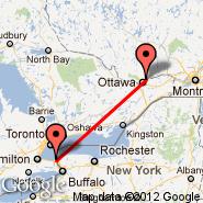 St Catharines (St Catharines, YCM) - Ottawa (Executive Gatineau-Ottawa, YND)