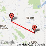 Edmonton (Edmonton International, YEG) - Chetwynd (YCQ)