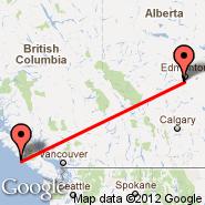 Edmonton (Edmonton International, YEG) - Estevan Point (YEP)