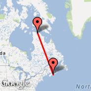 Halifax (Halifax International, YHZ) - Deception Bay (Deception, YGY)