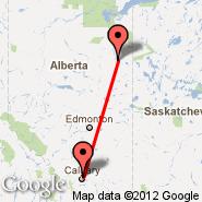 Fort Mcmurray (YMM) - Calgary (Calgary International Airport, YYC)
