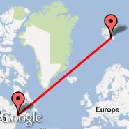 Montreal (Montréal-pierre Elliott Trudeau International Airport, YUL) - Svalbard (Spitsberg, SYG)