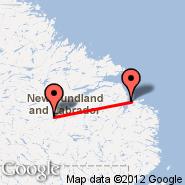 Goose Bay (YYR) - Cartwright (YRF)