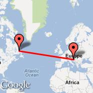 Zagabria (Pleso, ZAG) - Newfoundland and Labrador (CANL)