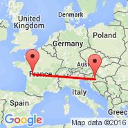 Zagreb (Pleso, ZAG) - Poitiers (Biard, PIS)