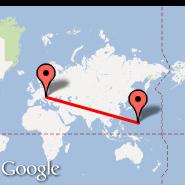Zagabria (Pleso, ZAG) - Saipan (International, SPN)