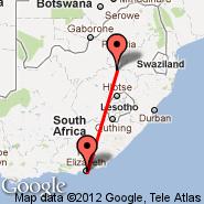 Secunda (ZEC) - Port Elizabeth (PLZ)