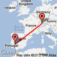 Zurich (Zürich-Kloten, ZRH) - Badajoz (Talaveral La Real, BJZ)