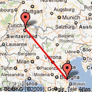 Zurich (Zürich-Kloten, ZRH) - Ravenna (La Spreta, RAN)